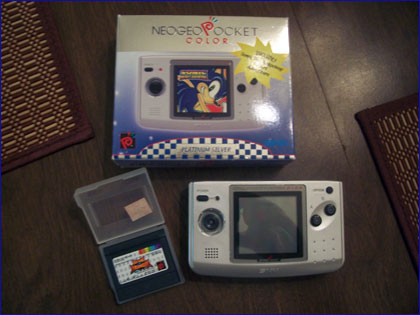 Neo-Geo Pocket Color (system and games)
